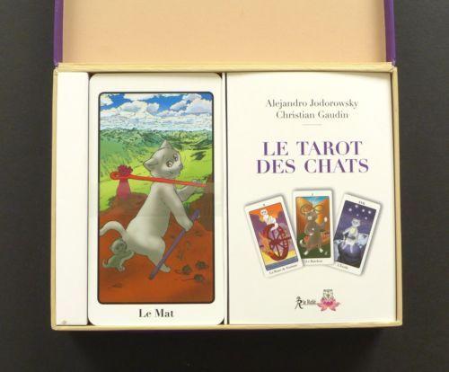 Le-Tarot-des-Chats-Cat-Tarot-Cards-Deck-by-Alejandro-Jodorowsky-Gaudin-Sealed