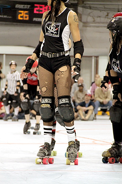 cape fear roller girls! hope to soon be one!
