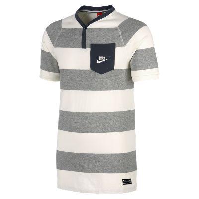 Nike GF Y-Neck Camiseta Henley - Hombre