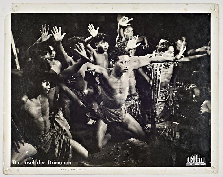 """""""Die Insel der Dämonen"""" (Island of Demons) (1933, 75 Min.) – A film by Victor Baron von Plessen, Friedrich Dalsheim and Walter Spies"""