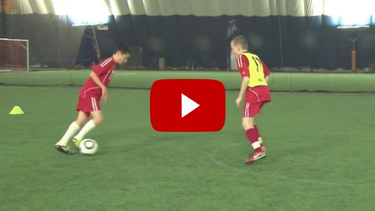 Football 1v3 Youth Drill. Top Soccer Coach - the best soccer/football videos and articles on the web for soccer/football coaches.
