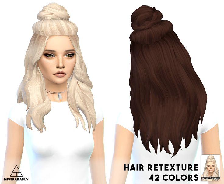 Miss Paraply: Vellichor hairstyle retextured - Sims 4 Hairs - http://sims4hairs.com/miss-paraply-vellichor-hairstyle-retextured/