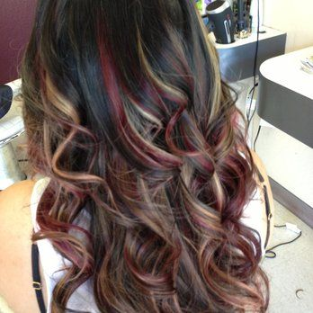 Want this Purple Red and Black