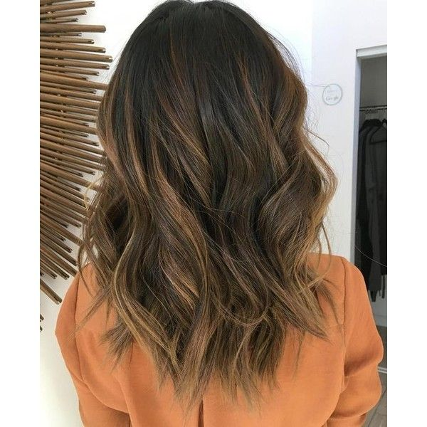 60 Balayage Hair Color Ideas with Blonde, Brown, Caramel and Red... ❤ liked on Polyvore featuring beauty products and haircare