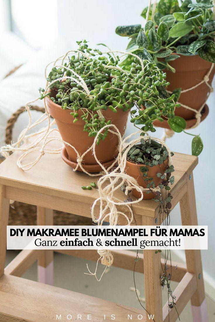 Diy Makramee Blumenampel Jucheee Und Nicht Oh Wehhh
