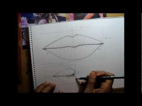 Curso de dibujo a lápiz cap. 8 (La boca)