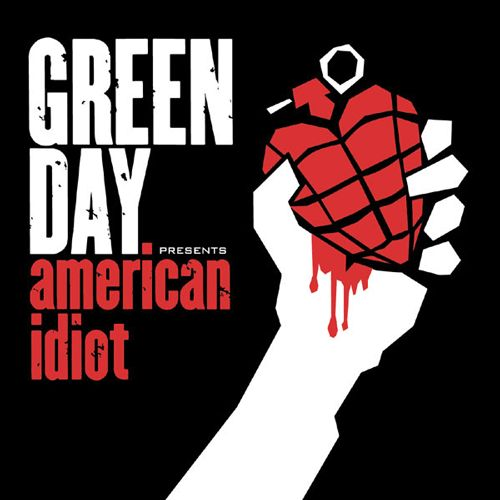 Green Day, American Idiot   23 Classic Album Covers That Are Even Better As Animated GIFs