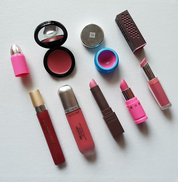 Beautifully Glossy: October's most used lip products