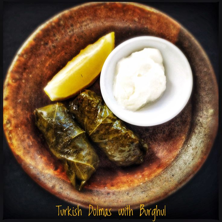 Spiced Burghul Wrapped in Vine Leaves | Yaprak Sarma