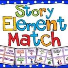 Free.  I created this Story Element Match to teach my third graders about story elements, main idea, and summary writing.  We started with story elements,...