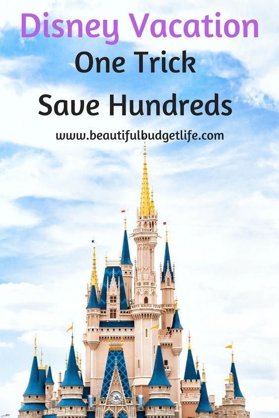 One trick to save hundreds of dollars on your next Disney World vacation