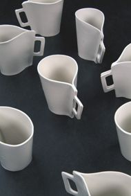 piet hein eekClay, Interesting Cups, Mugs Cups, Coffee Cups, Ceramics, Amazing Pottery, Cups Mugs Shape, Coffee Mugs, Interesting Coffee