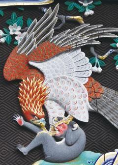 左甚五郎の作と伝えられる鷲と猿 : 埼玉の小日光「妻沼聖天山」はもっと評価されていい!【国宝】 - NAVER まとめ