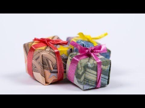 Geldgeschenk Zu Weihnachten Selber Basteln Diy Anleitung Youtube