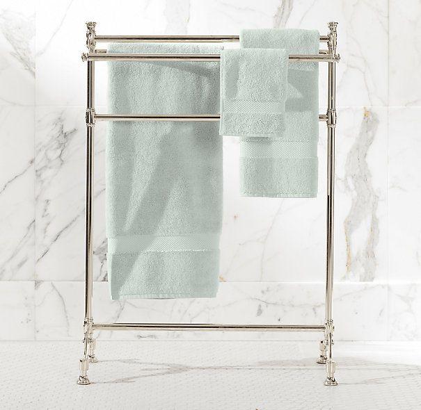 amusing bathroom floor towel rack   Newbury Towel Stand   Restoration Hardware   Residence ...