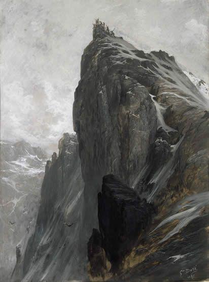 L'Ascension du Mont Cervin. - Gustave DORE