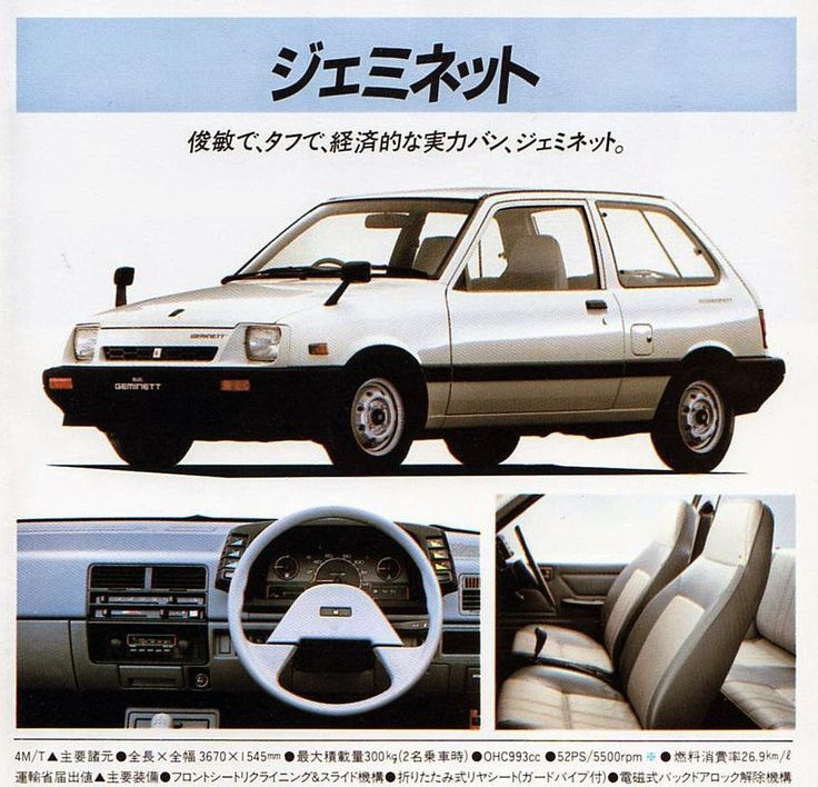 Isuzu Geminett ( Minkara ). Is always great to find new examples of badge-engineering, at least for me. I just love learning about alte...