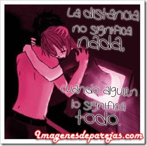 Mas Imagenes De Parejas Con Frases De Amor A Distancia Http