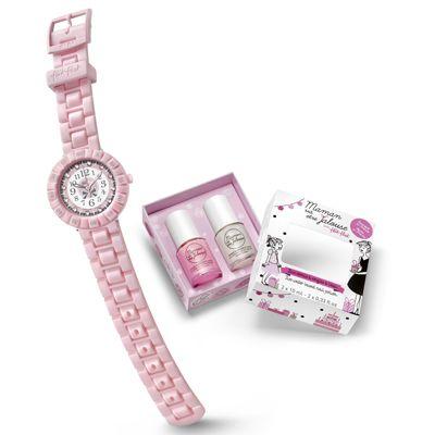 Flik Flak PARA NIÑA Para las niñas más coquetas os mostramos uno de los nuevos modelos de #FlikFlak, a elegir en rosa y azul y que viene con dos #pintauñas de regalo: http://www.todo-relojes.com/detalle.asp?codigo=29961 http://www.todo-relojes.com/detalle.asp?codigo=29962 #relojniña
