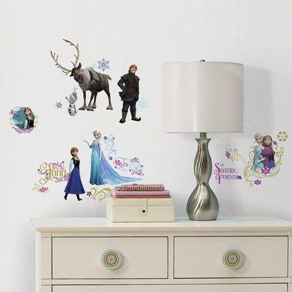 Flotte wall stickers  fra Disneys skønne tegnefilm Frost.