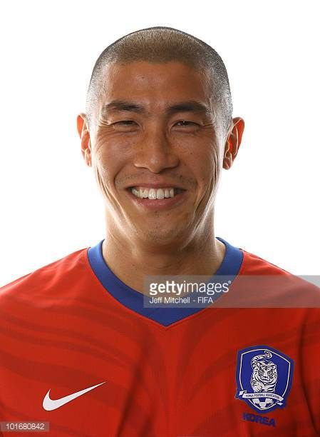 Du Ri Cha of South Korea poses during the official FIFA World Cup 2010 portrait session on June 6 2010 in Rustenburg South Africa
