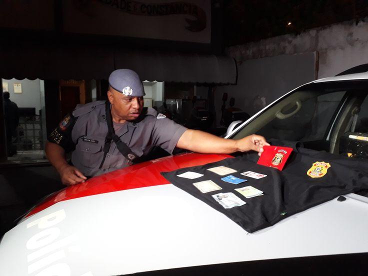 #Polícia: Falso Policial Federal é preso ao tentar extorquir ambulantes na Zona Oeste de São Paulo