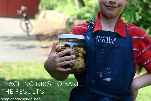"""Jamie from Simple Homeschool gives an official baking class for her kids.  These are the results and end of class celebration.   There is a link to her ideas for teaching kids to bake, one of the most useful """"crafts"""" to teach your kids!"""