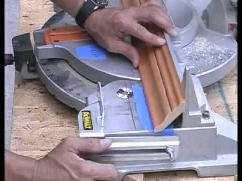 How to cut crown molding the easy way! - YouTube This is the tutorial I like best.