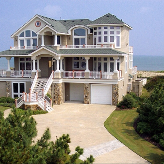 63 best cottages floor plans images on pinterest beach for Dream beach house