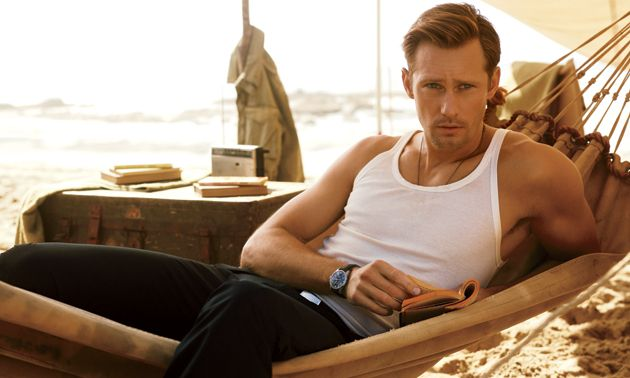 Alexander Skarsgard. I know I don't need to say anything more.