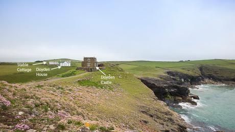 "Doyden Castle, Cornwall – National Trust ""cottage""!"