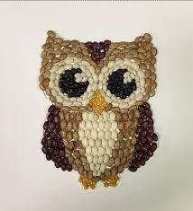 Resultado de imagen para art with seeds and beans