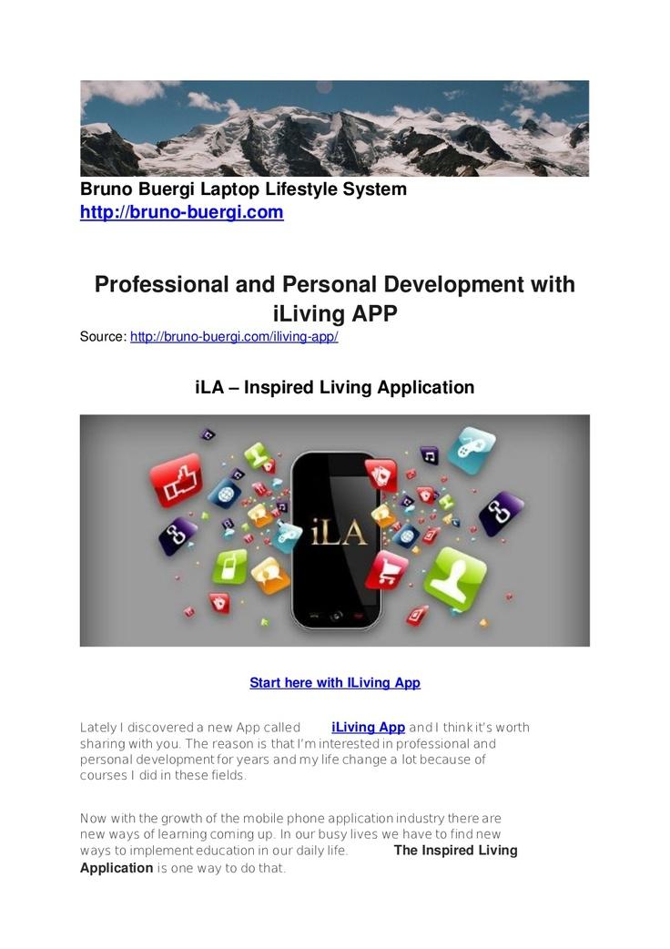i-living-app-16071708 by Bruno Bürgi via Slideshare