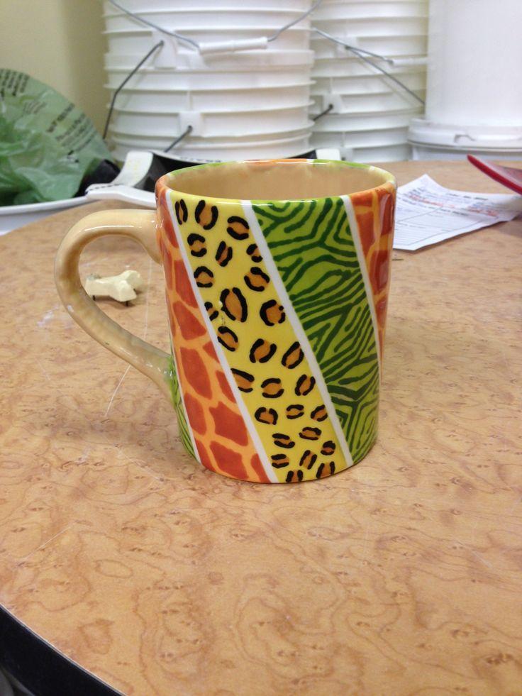Pottery Mug Painting Ideas Pastel