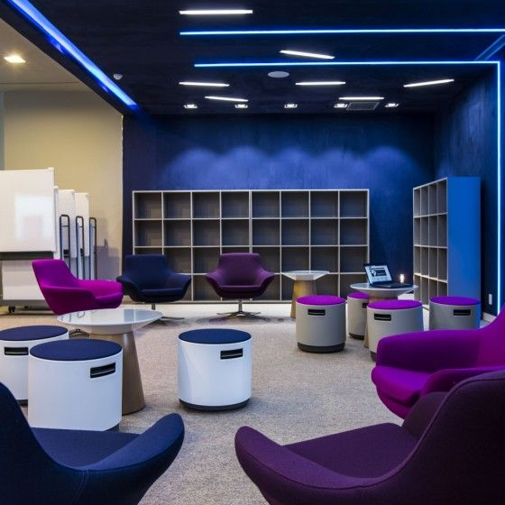 Proposta de sala de aula do futuro - sala conceito Xperience na unidade de Nova Lima (MG)