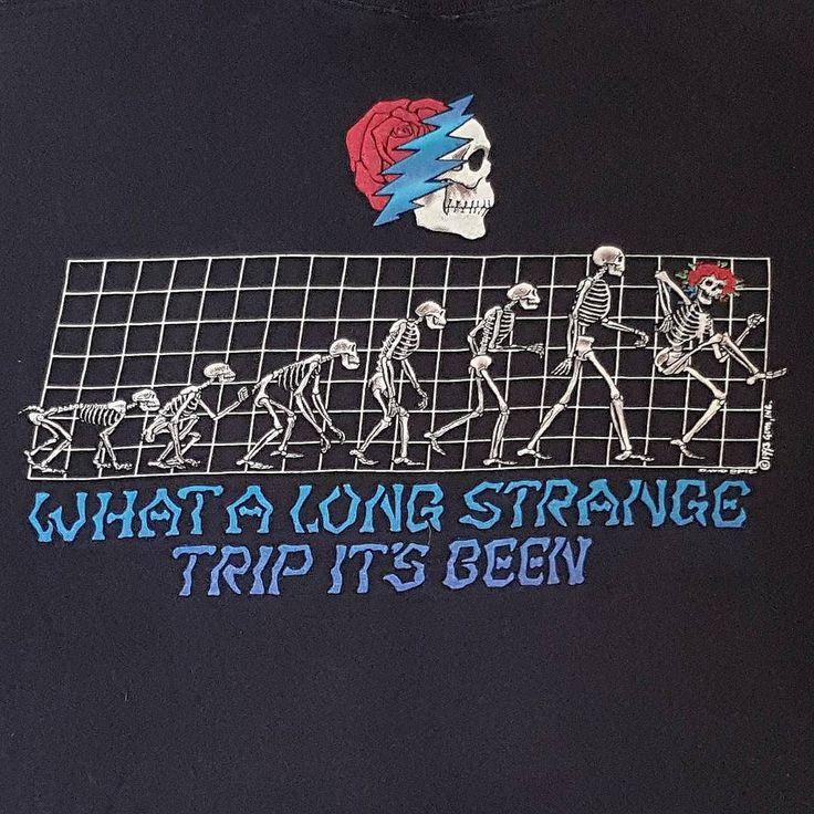 Grateful dead 1993 David Opie What a long strange trip it's been #gratefuldead…