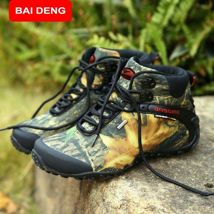 BAIDENG fashion outdoor climbing hiking boots waterproof men boot new style outdoor mountain trekking shoes hunting boots 8069 #jewelry, #women, #men, #hats, #watches, #belts, #fashion