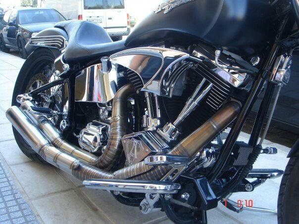 harley davidson custom made in Greece 1