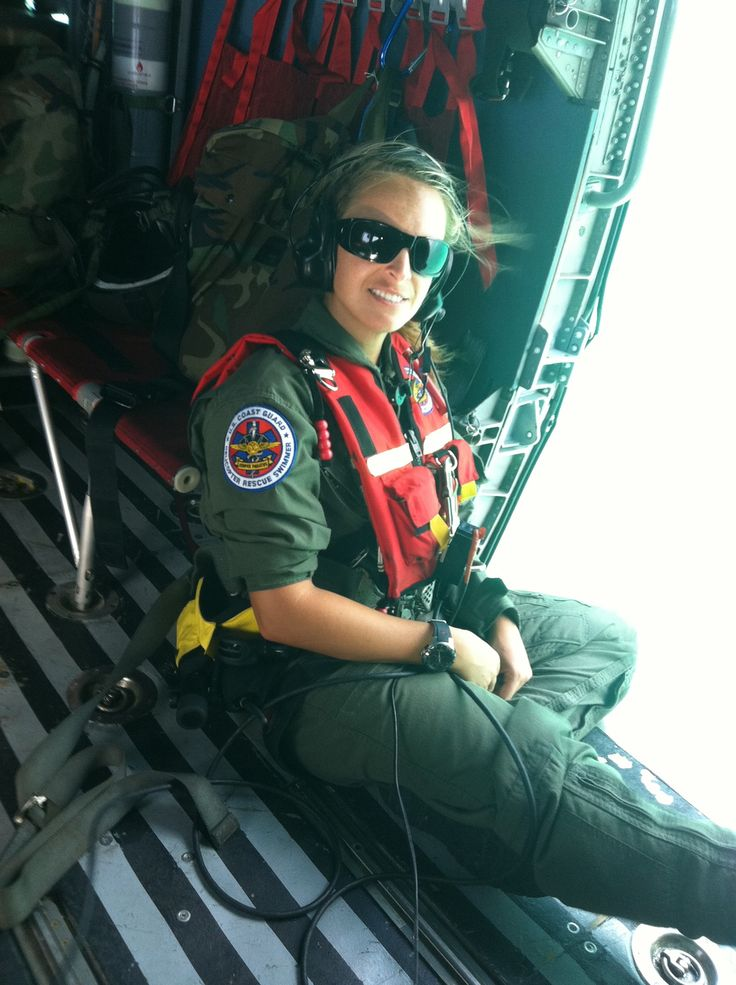"""""""If you want to be a real rescue swimmer,"""" they said, """"join the U.S. Coast Guard."""""""