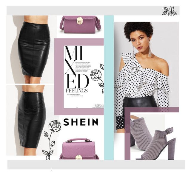 """Elegant with leather."" by zeljkaa ❤ liked on Polyvore"