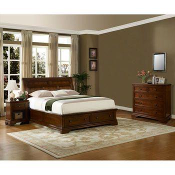 Bennington 4 Piece King Storage Bedroom Set