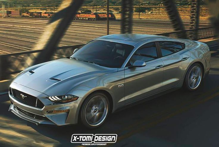 Ford May Be Planning A Four Door Mustang Mustang Ford Ford Mustang