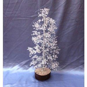 CLEARQUARTZ TREE LARGE075