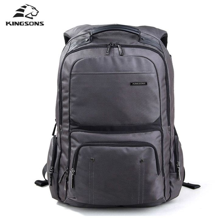 Kingsons New Shockproof 15.6 inch Laptop Backpacks Notebook Bags Women's Solid Color Laptop Bag Business Travel Bags KS3049W