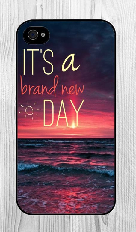 It's a brand new day iPhone Case