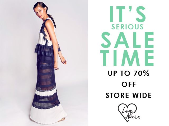 alice McCALL SALE TIME!