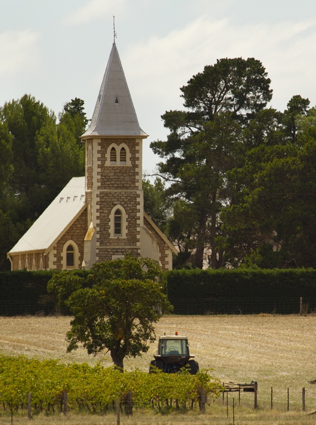 Ebenezer Church. Barossa Valley, South Australia. Image © Dragan Radocaj Photography.