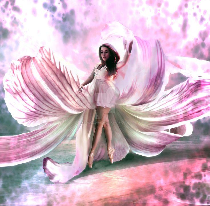 La femme fleur by Yaazzooo on DeviantArt