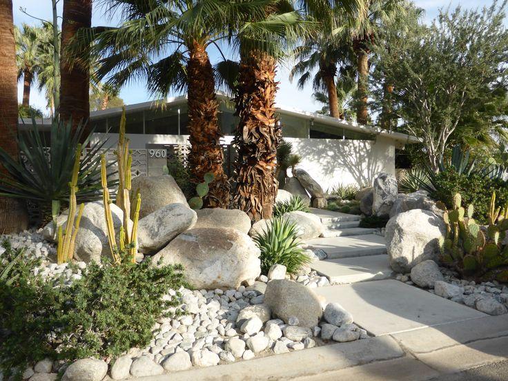 17 best images about desertscape on pinterest modern for Palm springs landscape design