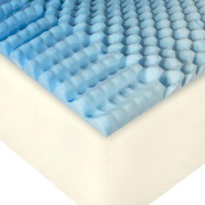 Polar Foam Multi-Support Mattress Overlay Cushion - http://delanico.com/mattresses/polar-foam-multisupport-mattress-overlay-cushion-678682305/